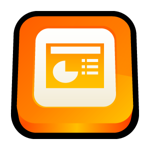 powerpoint large png icon
