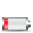 battery horizontal 20percent Png Icon