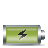 battery horizontal charging Png Icon