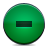 button green delete Png Icon