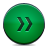 button green fastforward Png Icon