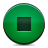 button green stop Png Icon