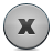 button grey close Png Icon