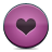 button pink heart Png Icon