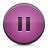 button pink pause Png Icon
