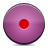 button pink record Png Icon
