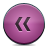 button pink rewind Png Icon