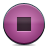 button pink stop Png Icon