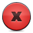 button red close Png Icon