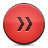 button red fastforward Png Icon