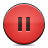 button red pause Png Icon