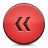 button red rewind Png Icon