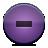 button violet delete Png Icon