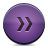 button violet fastforward Png Icon