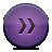button violet fastforward Png Icon