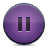 button violet pause Png Icon