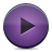 button violet play Png Icon