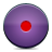 button violet record Png Icon