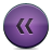 button violet rewind Png Icon