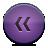 button violet rewind Png Icon
