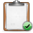 clipboard check Png Icon