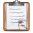 clipboard full Png Icon