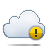 cloud alert Png Icon