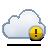 cloud alert Png Icon