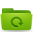 folder green backup Png Icon