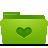 folder green favorites Png Icon