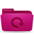 folder pink backup Png Icon