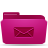 folder pink mails Png Icon