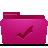 folder pink todos Png Icon