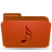 folder red music Png Icon