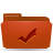 folder red todos Png Icon