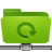 folder remote backup green Png Icon
