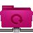 folder remote backup pink Png Icon