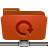 folder remote backup red Png Icon