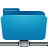 folder remote blue Png Icon