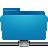 folder remote blue Png Icon