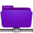folder remote violet Png Icon