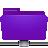 folder remote violet Png Icon