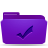 folder violet todos Png Icon