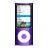 ipod nano violet Png Icon
