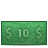 money 10 Png Icon