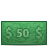 money 50 Png Icon