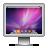 screen aurora snowleopard Png Icon