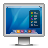 screen twitter Png Icon