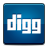 social digg Png Icon