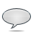 speech bubble grey Png Icon